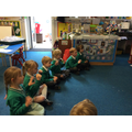 Adding actions as we sing along with the guitar