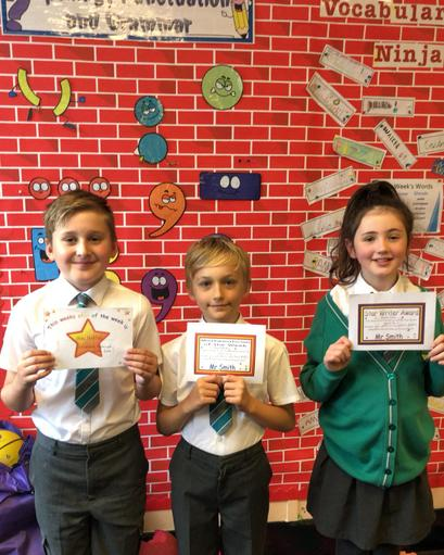 Well done to our winners 2nd October