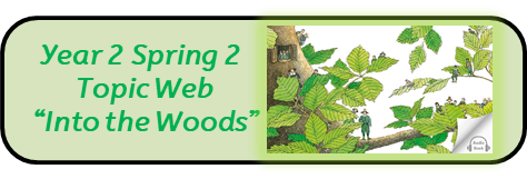 "Year 2 Spring 2, Topic Web: ""Into the Woods"""