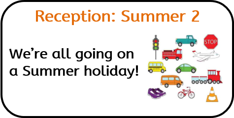 Reception Summer 2: We're all going on a Summer holiday!
