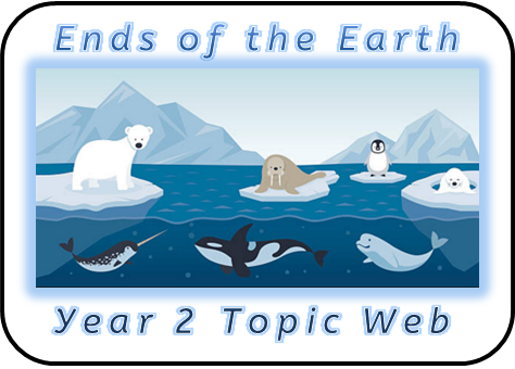 Year 2 Topic Web: Ends of the Earth