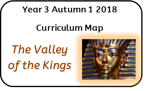 Year 3 Autumn 1 2018 Curriculum Map: The Valley of The Kings