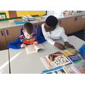 Reading buddies