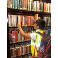 An ambitious reader!