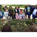 Flower and plant hunt in school