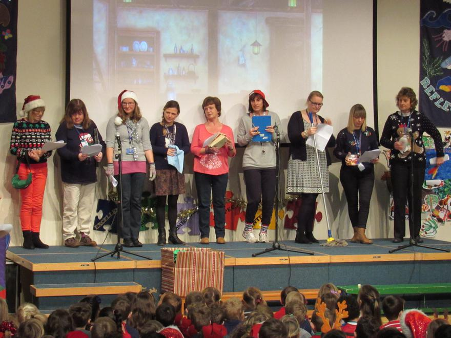 The Nine Teaching Assistants