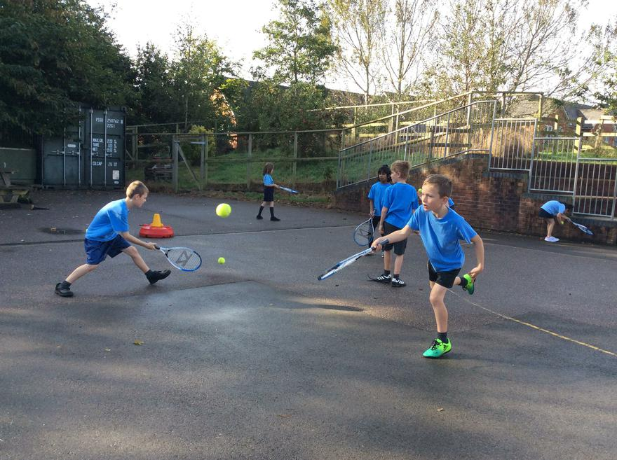 Year 3 Tennis Autumn term