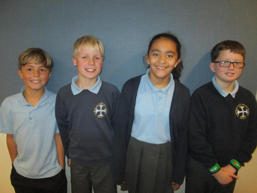 (l-r) Spencer, Ben, Megan and Oliver