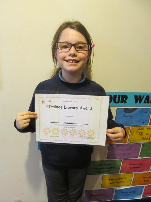 Lauren - Trainee Librarian Award