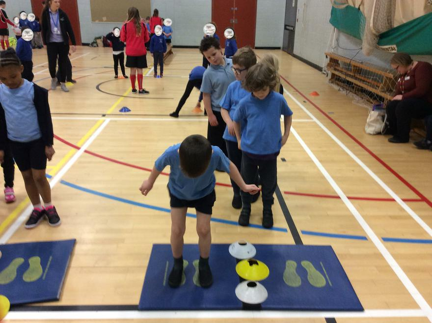 Y1 Multiskills at St Lukes Feb 2018