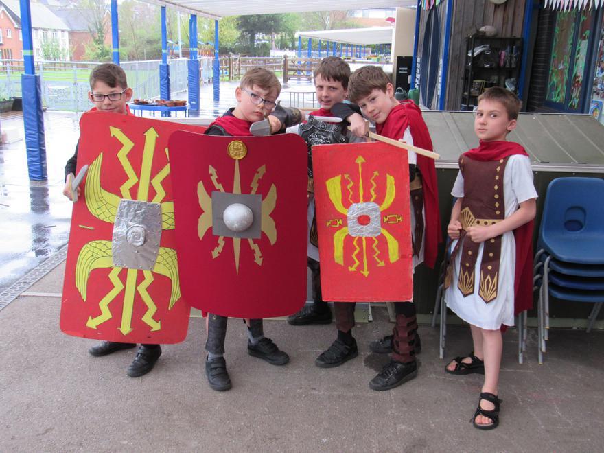 The legionaries of the XXX Legion