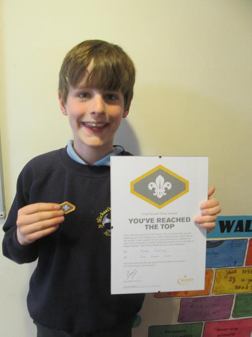 Sandy - Chief Scout Silver Award (Cubs)
