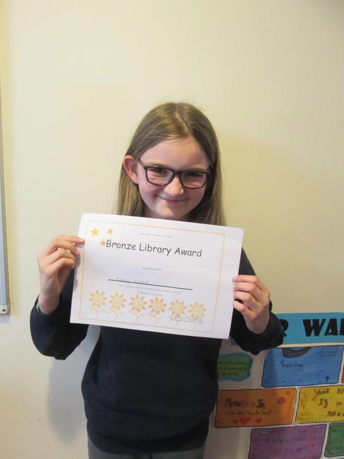 Ruby - Bronze Librarian Award