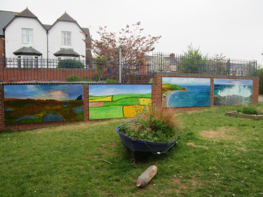 Sensory Garden Artwork