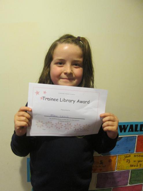 Alice - Trainee Librarian Award