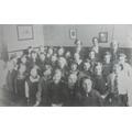 A class of girls in 1935