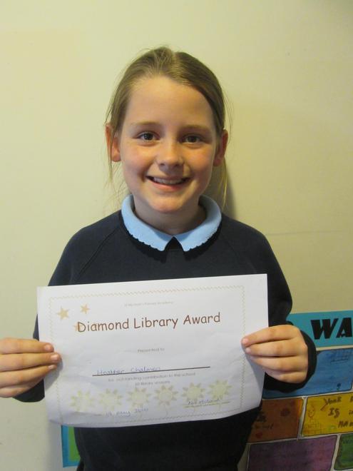 Heather - Diamond Librarian Award