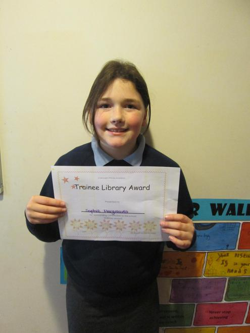 Sophie - Trainee Librarian Award
