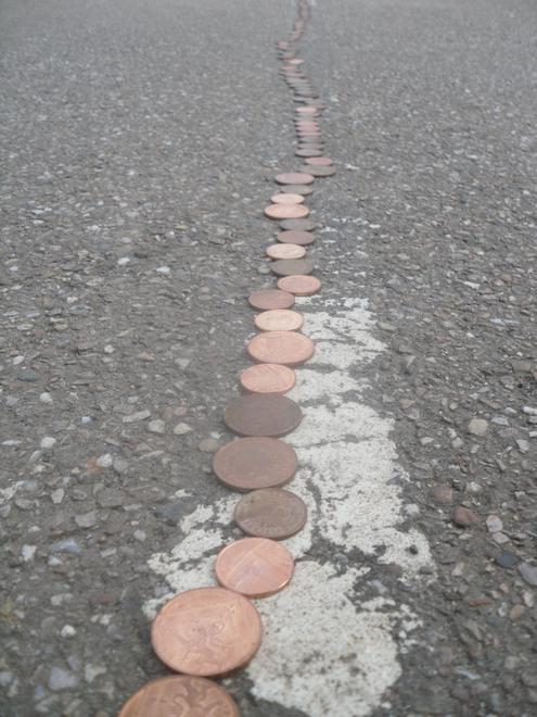 Coin lines