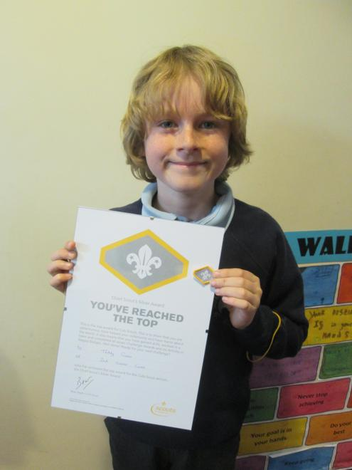 Teddy - Chief Scout SIlver Award (Cubs)