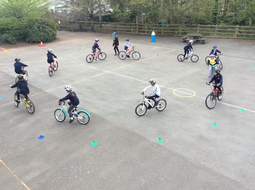 Y5 Bike Skills April 2018