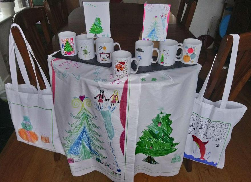 Christmas Gifts designed by the children
