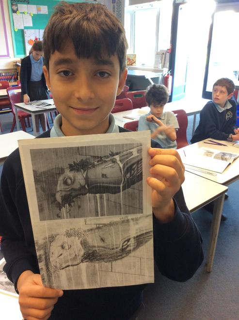 Drawing and clay modelling