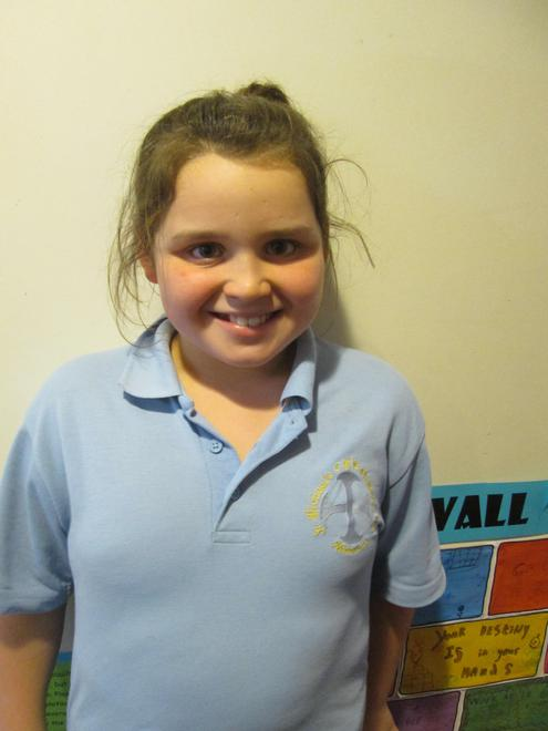 Lily - raising money for MacMillan
