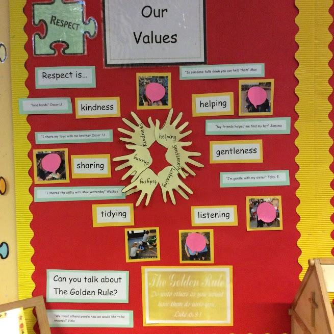 Our Values Display
