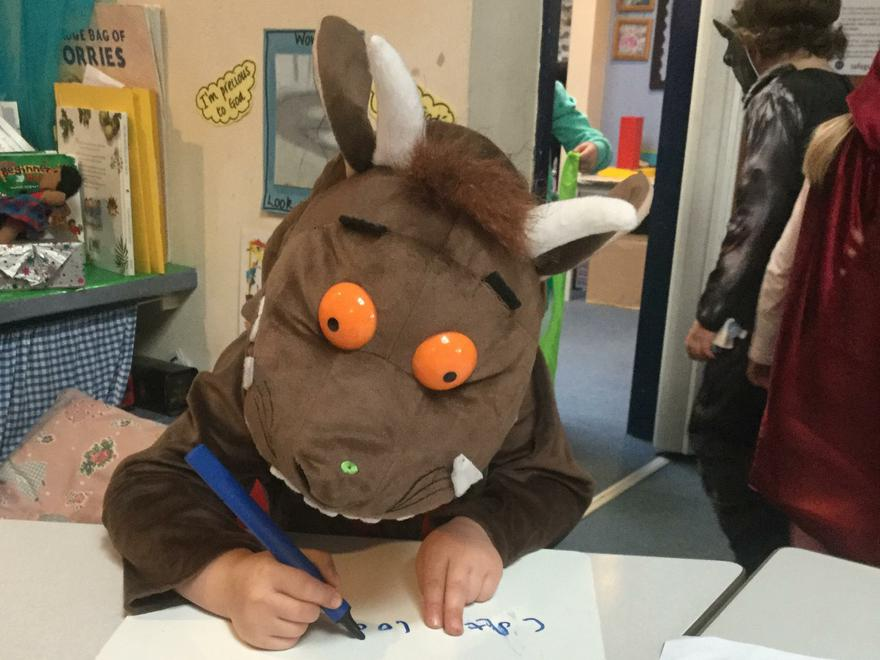 Even the Gruffalo works at St Michael's!