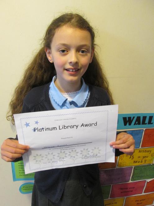 Yasmine - Platinum Librarian Award