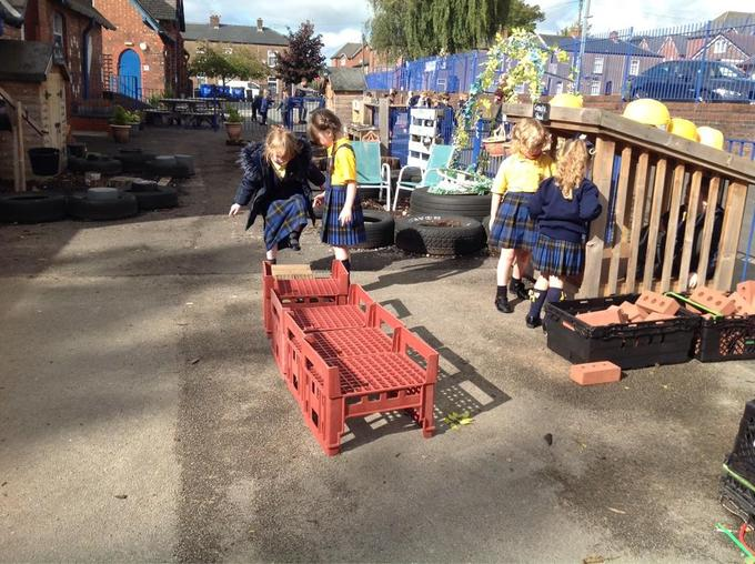 Building our own obstacle courses