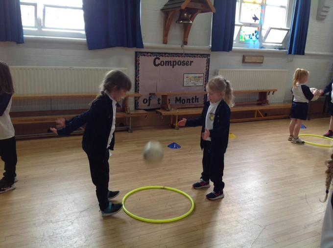 Exploring new skills with a partner.