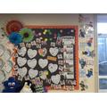 Class wellbeing board