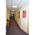 The office corridor