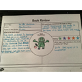 Evie did a brilliant book review.