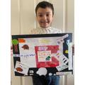 Ethan's hedgehog poster
