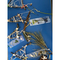 Dream catchers made from natural resources