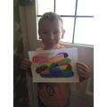 Alfie's art work