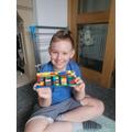 Archie's lego bridge