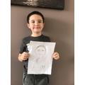 Jacob's portrait.
