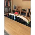 Jamie H's bridge carries a heavy load