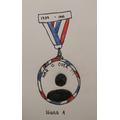 Iliana's VE Day medal