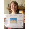 Great work about the pyramids Theo!