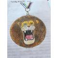 Georgia's VE Day medal