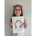 Julia's self portrait