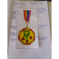 VE Day medal by James