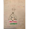 Evie's Iron Man poster