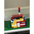 Teddy's lego house