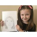 Evie's self portrait